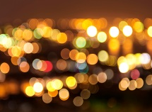 hxdly - city lights bokeh - 123rf